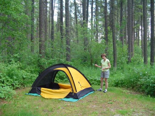 Nojack campground